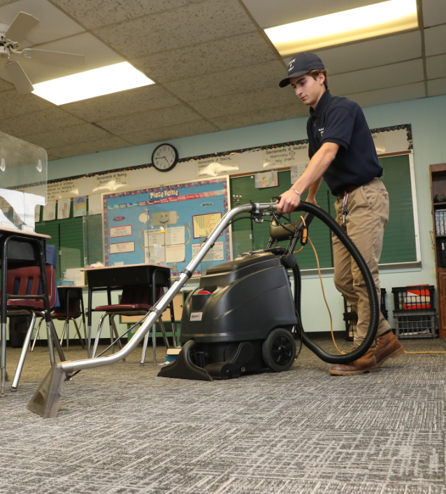 Getting Carpet Cleaning for K-12 schools